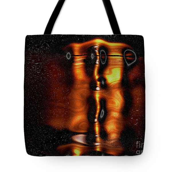 One With Shadows Tote Bag