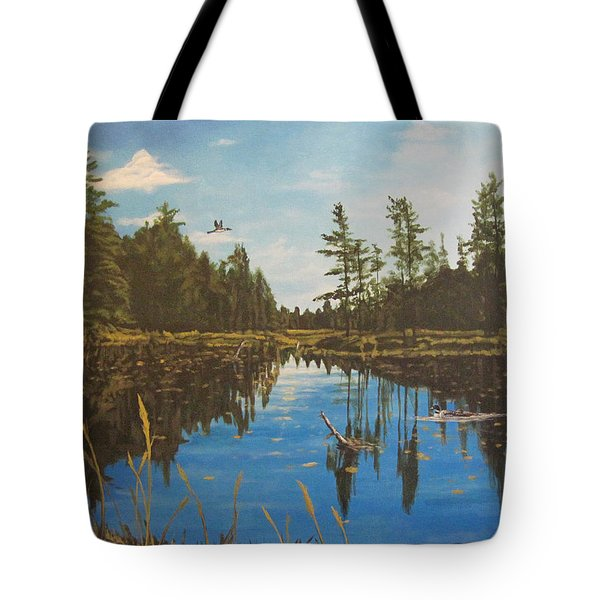 O'neal Lake Tote Bag by Wendy Shoults