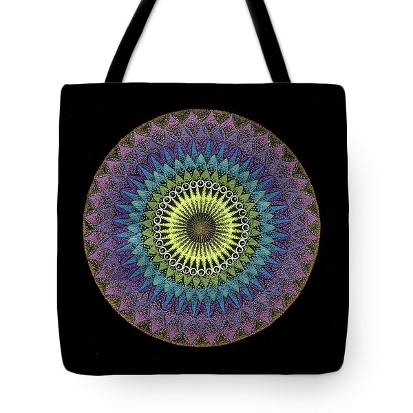 Tote Bag featuring the painting Oneness by Keiko Katsuta