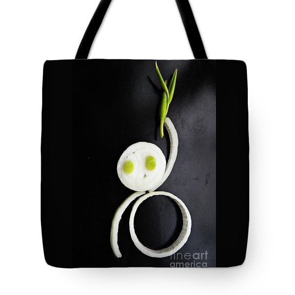 Onion Baby Tote Bag by Sarah Loft