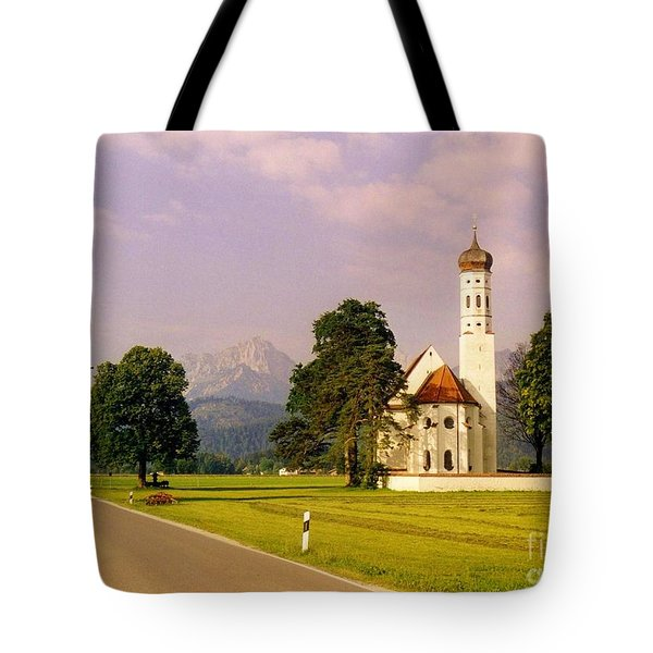 Onion Dome Church Tote Bag by John Malone