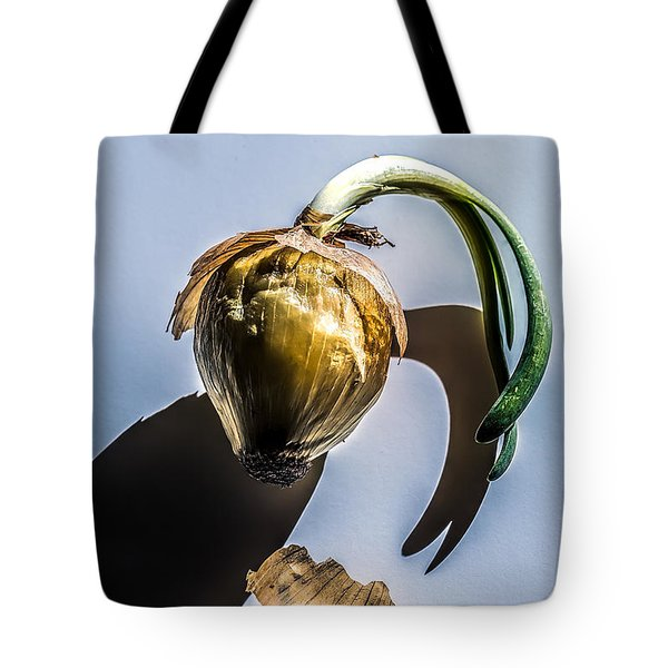 Onion Skin And Shadow Tote Bag