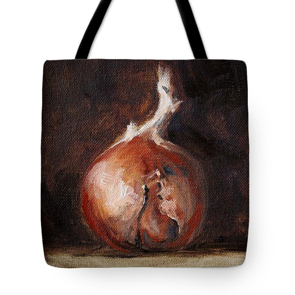 Onion Still Life Tote Bag