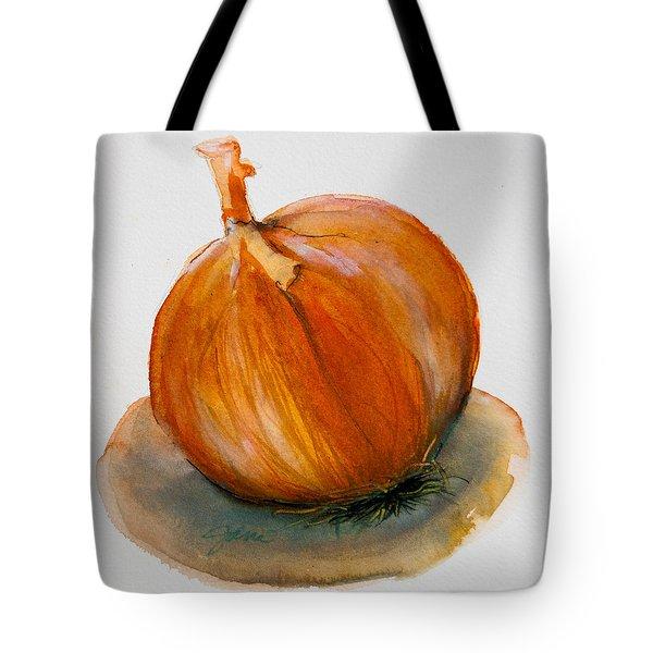 Onion Study Tote Bag by Jani Freimann