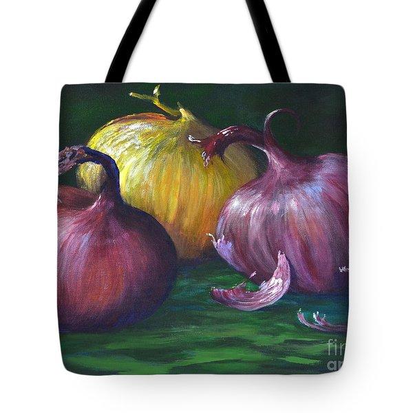 Onions Tote Bag by AnnaJo Vahle