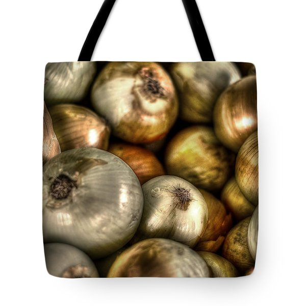 Onions Tote Bag by David Morefield