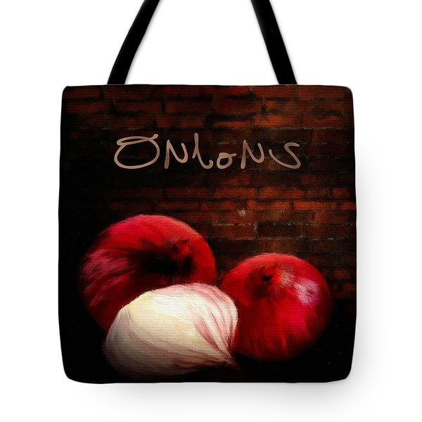 Onions II Tote Bag by Lourry Legarde