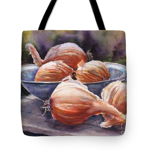 Onions Tote Bag by Mohamed Hirji