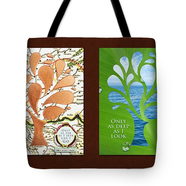 Only As Much As I Dream Series Tote Bag
