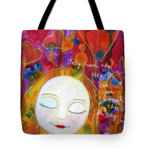 Only From The Heart Tote Bag