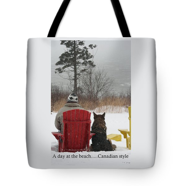 Only In Canada Tote Bag