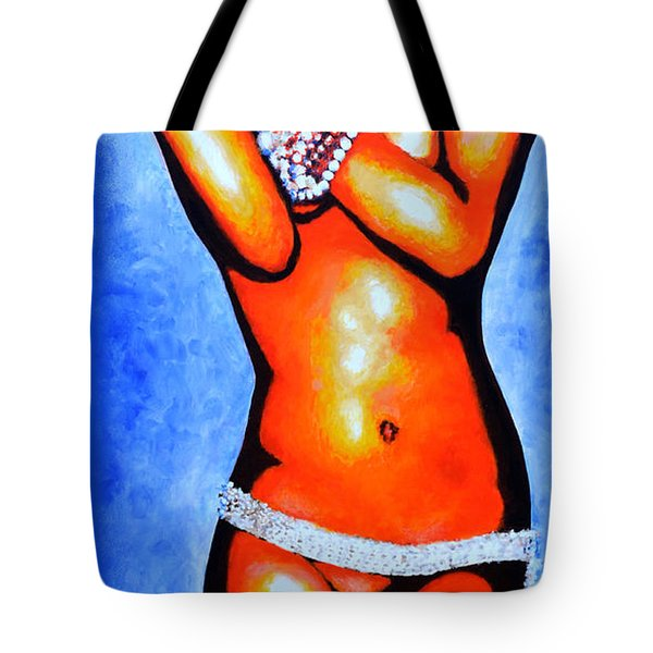 Cody Tote Bag by Victor Minca