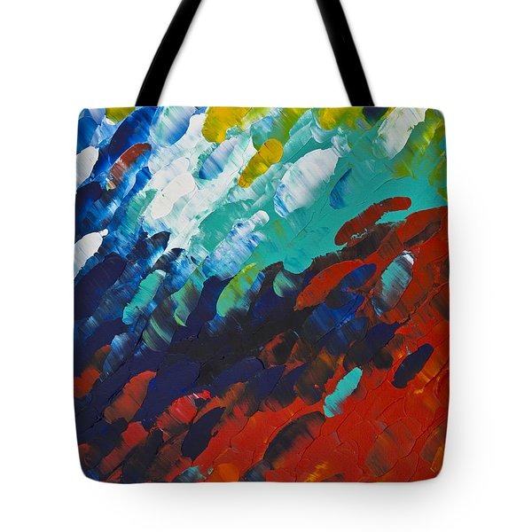 Only Till Eternity 1st Panel Tote Bag by Sharon Cummings