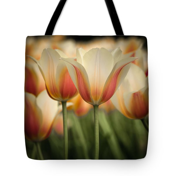 Only Tulips Tote Bag