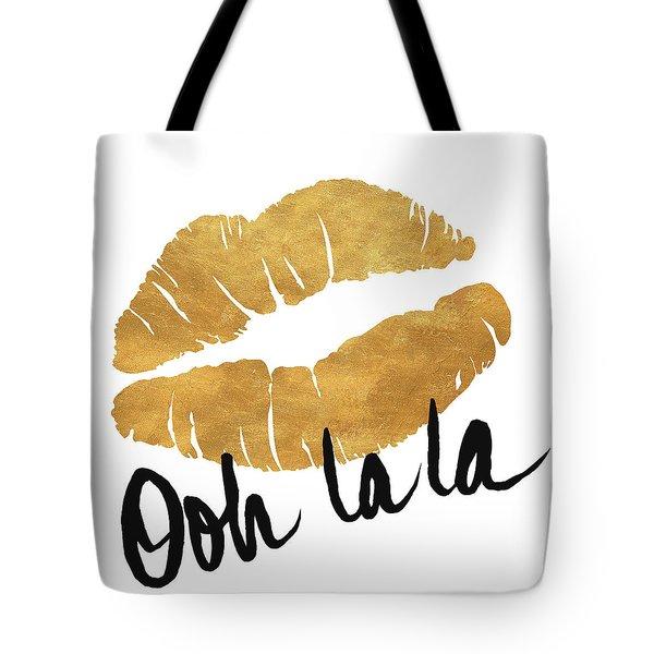 Ooh La La Lips Tote Bag