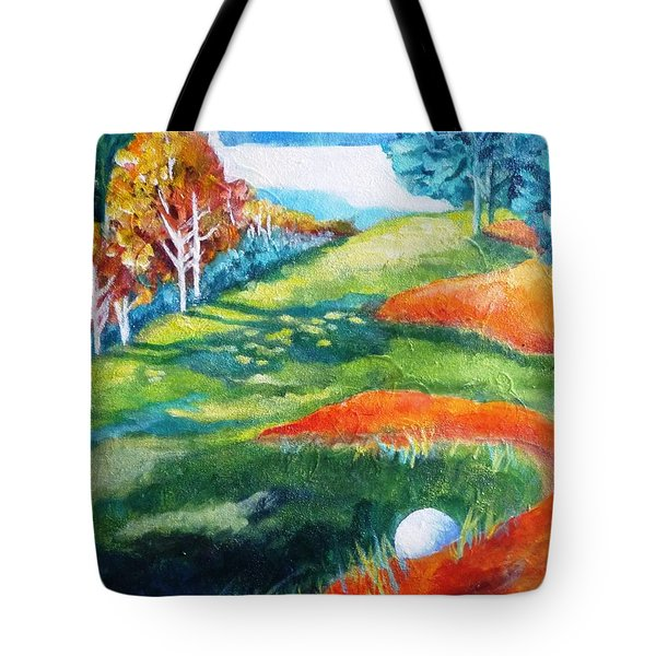 Oops - Bad Lie Tote Bag