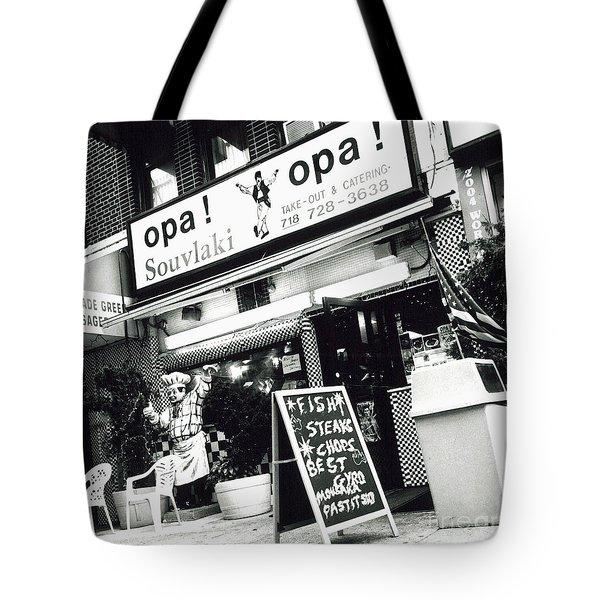 Opa Opa Tote Bag by James Aiken