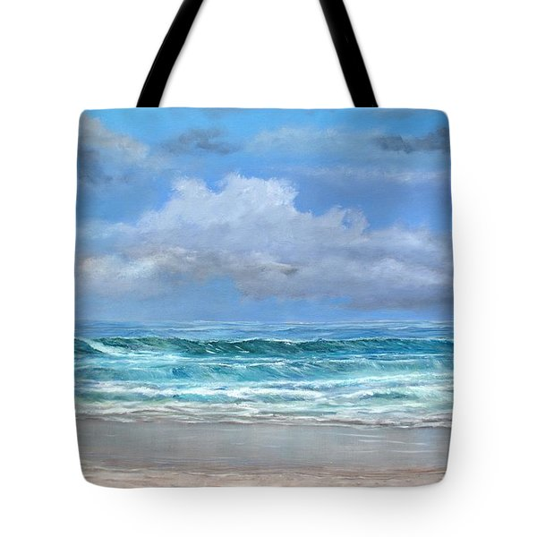 Open Beach Tote Bag