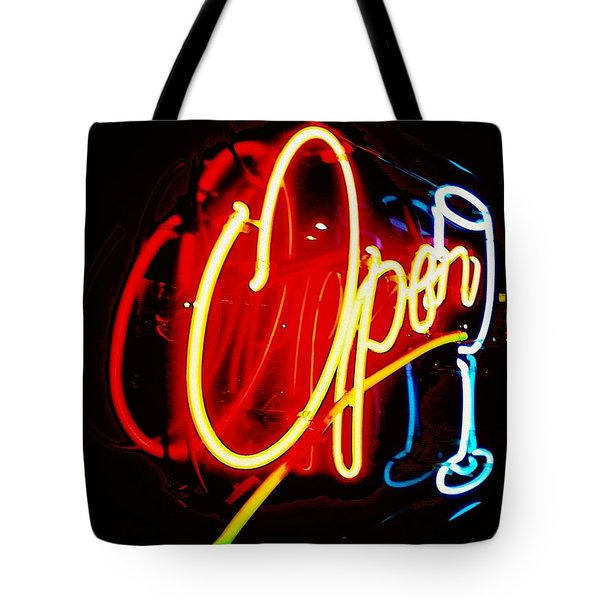 Tote Bag featuring the photograph Open by Daniel Thompson