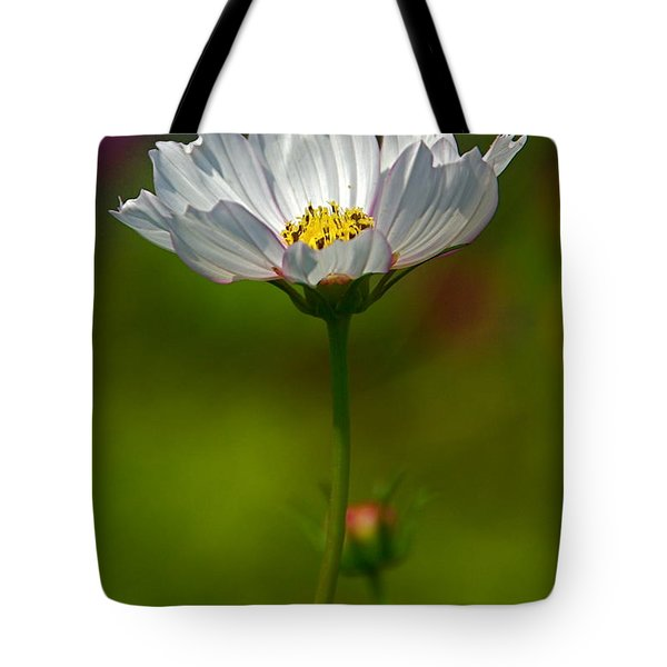 Tote Bag featuring the photograph Open For All by Byron Varvarigos