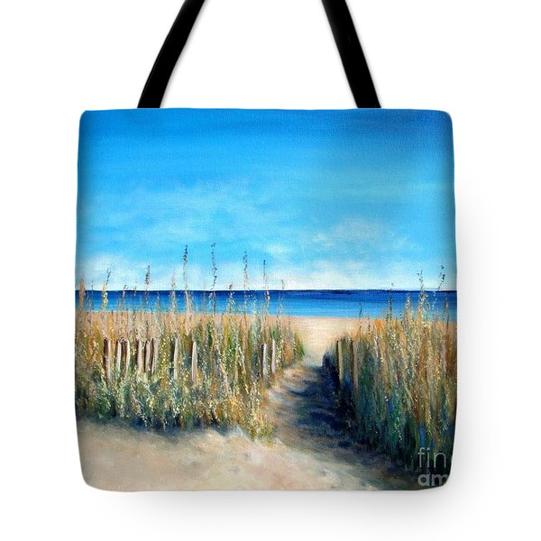 Pathway To Peace Tote Bag