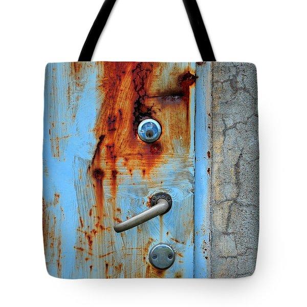 Open No More Tote Bag