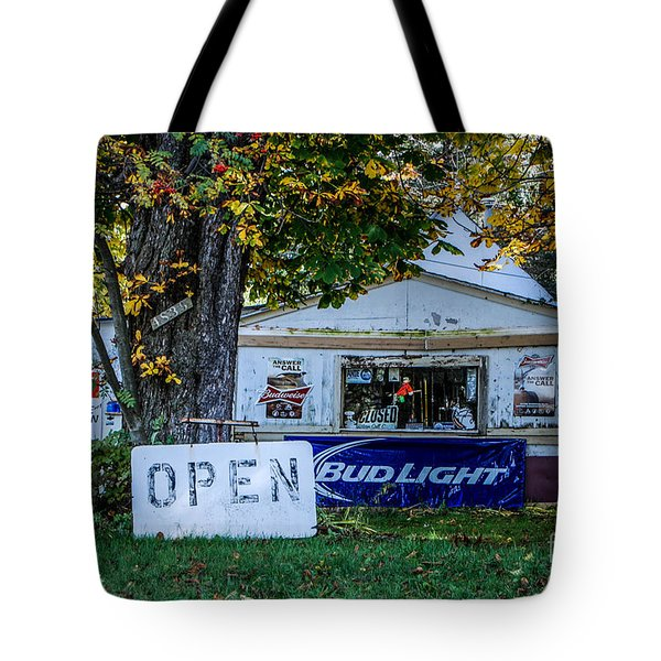 Open Or Closed Tote Bag
