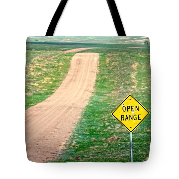 Open Range Tote Bag