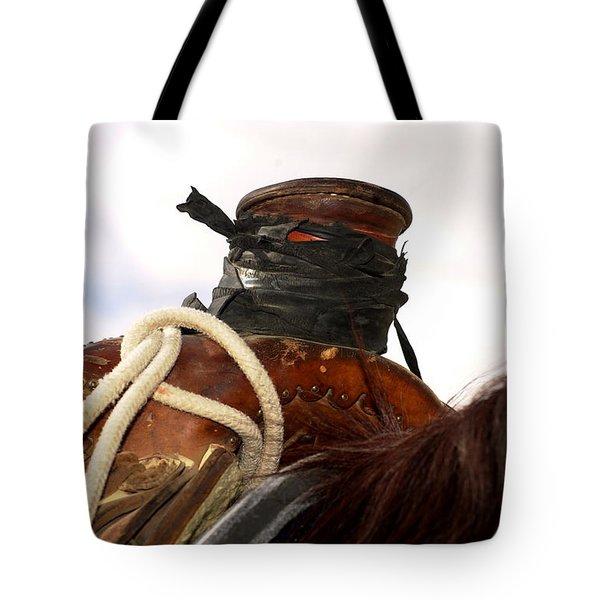 Open Range Saddle Tote Bag
