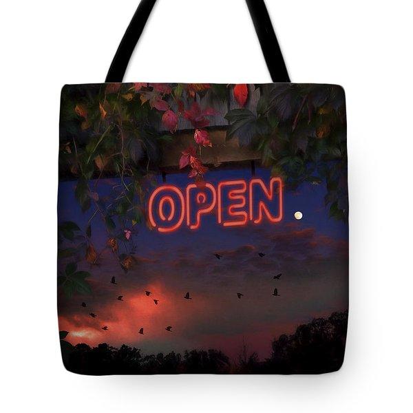 Open Tote Bag by Ron Jones