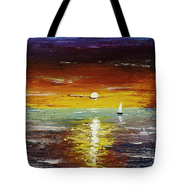 Open Sea Tote Bag