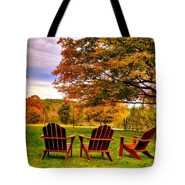 Open Seating Tote Bag