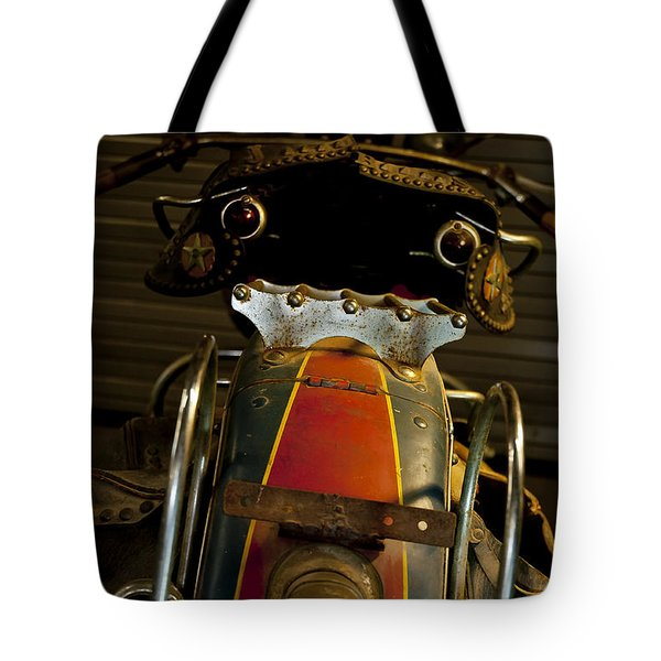 Open The Garage Door And Let Me Go  Tote Bag by Wilma  Birdwell