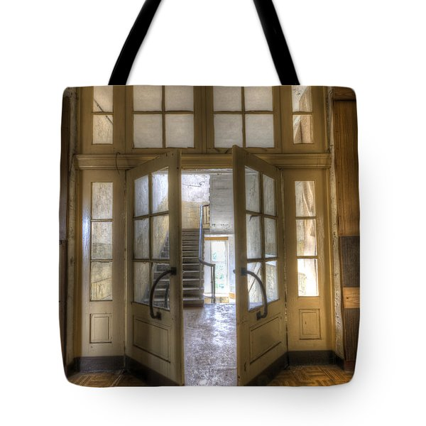 Open To The Light Tote Bag by Nathan Wright