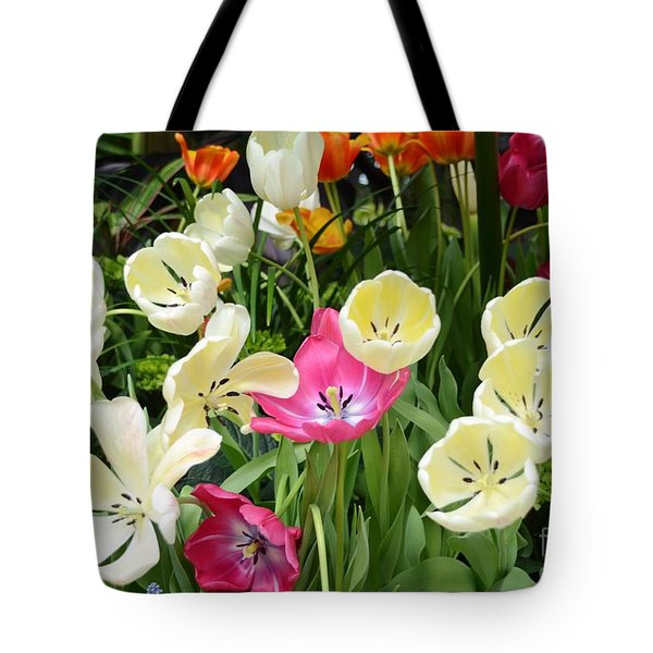 Open Tulips Tote Bag by Kathleen Struckle