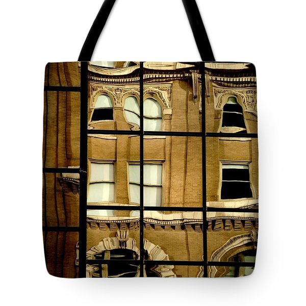 Tote Bag featuring the photograph Open Windows by Christiane Hellner-OBrien