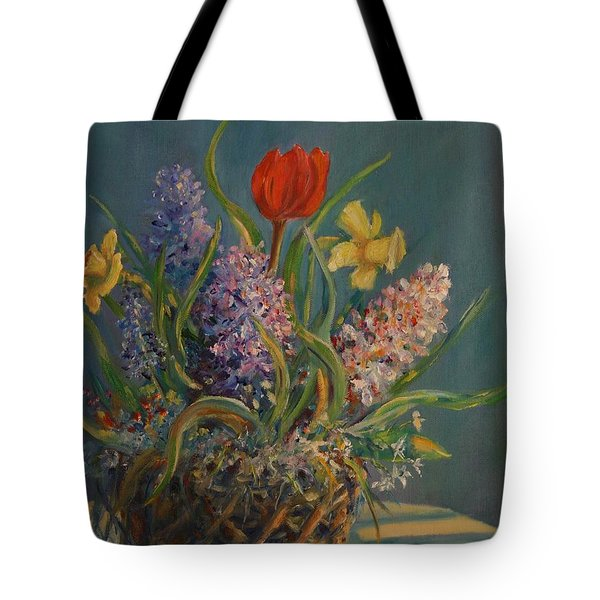 Tote Bag featuring the painting Opening Act by Dorothy Allston Rogers