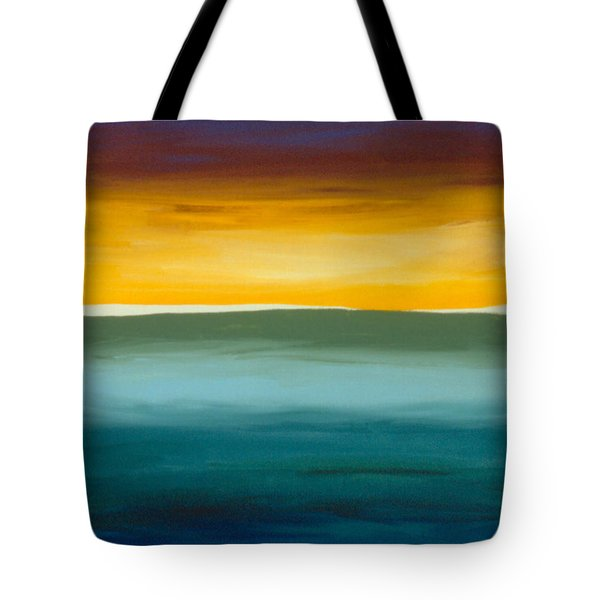 Opening On The Horizon Tote Bag