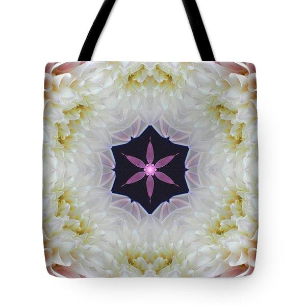 Opening To Love Mandala Tote Bag
