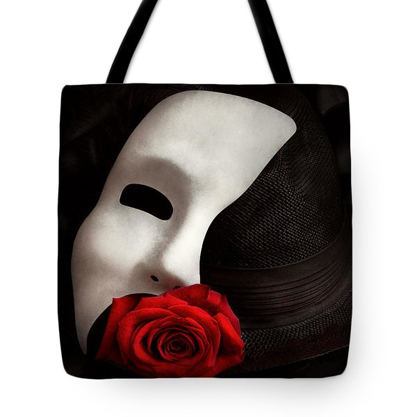 Opera - Mystery And The Opera Tote Bag