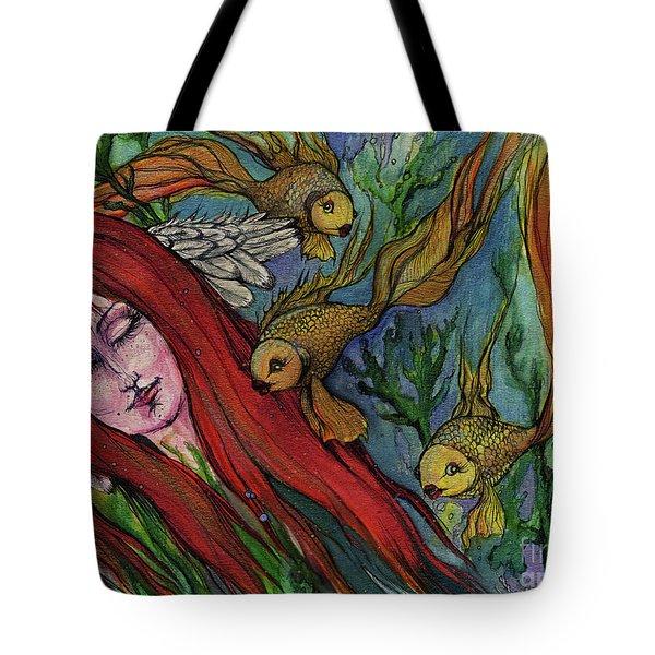 Ophelia Tote Bag by Angel  Tarantella