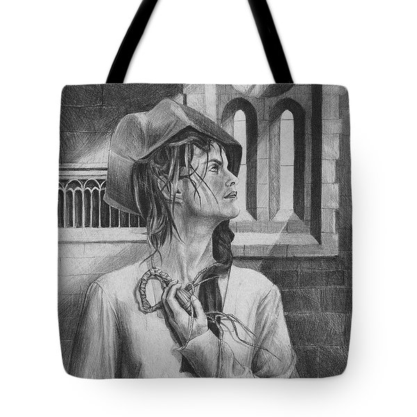 Ophelia Tote Bag by Yvonne Wright