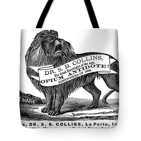 Opium Antidote, 1876 Tote Bag by Granger