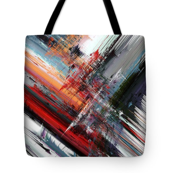 Opposing Angles Tote Bag