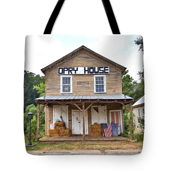 Tote Bag featuring the photograph Opry House - Square by Gordon Elwell