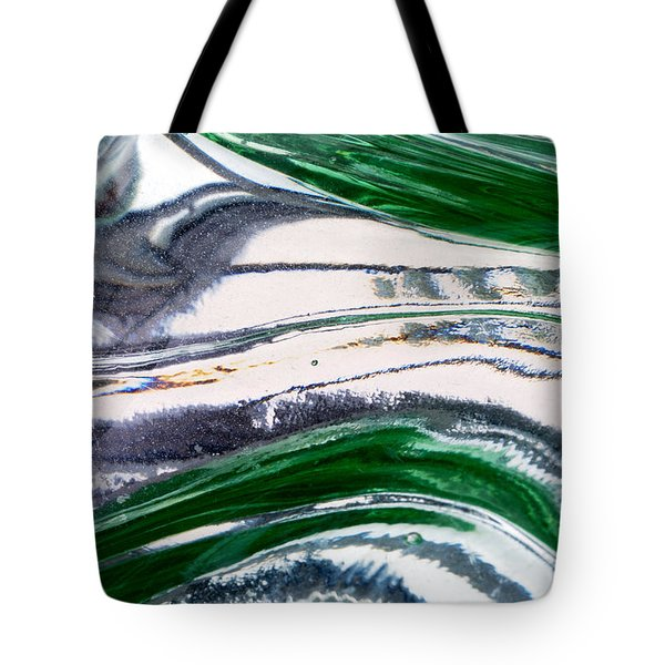 Optical Illusion Tote Bag by Wendy Wilton