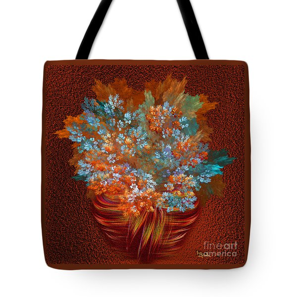 Optimistic Art - A Gift Of Joy By Rgiada Tote Bag