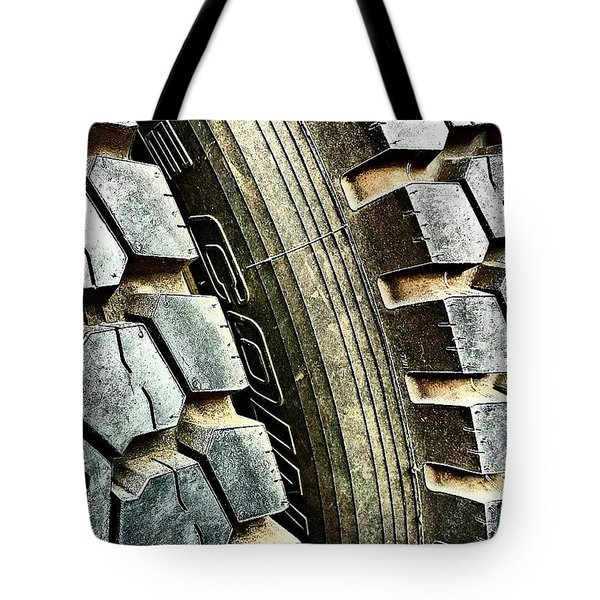 Optimus Prime's Tyres. #movies Tote Bag by Jason Michael Roust