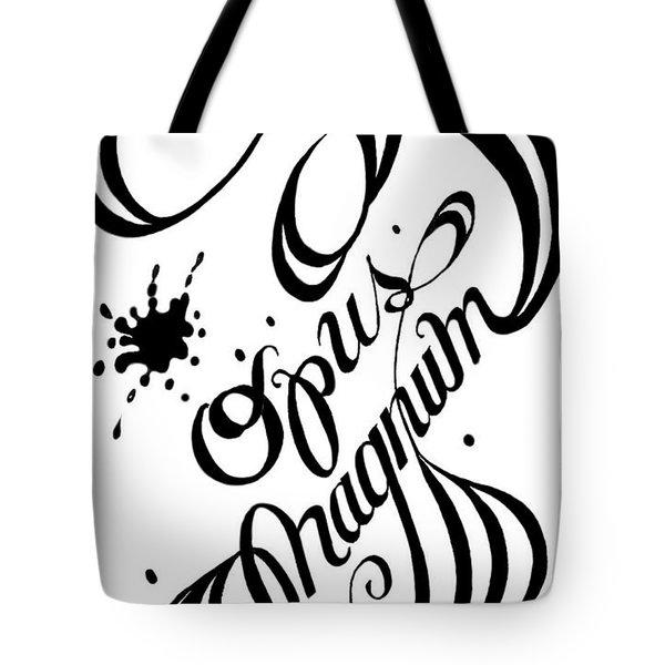 Opus Magnum Tote Bag