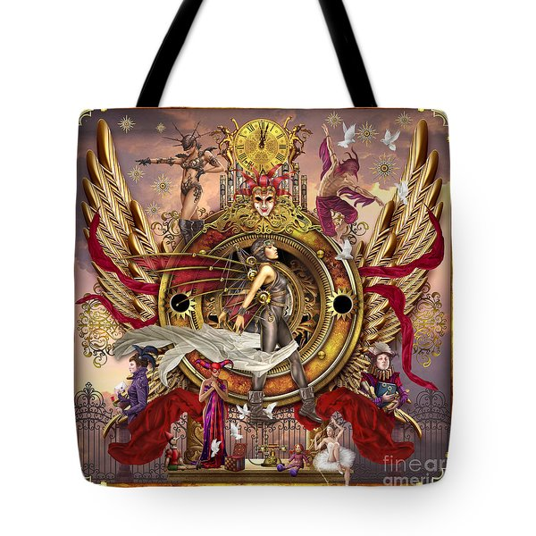 Oracle Of Visions Tote Bag by Ciro Marchetti